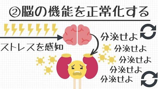 脳の機能を正常化