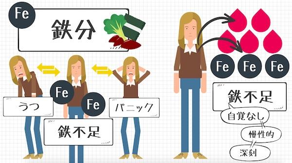 メンタル食事_鉄分